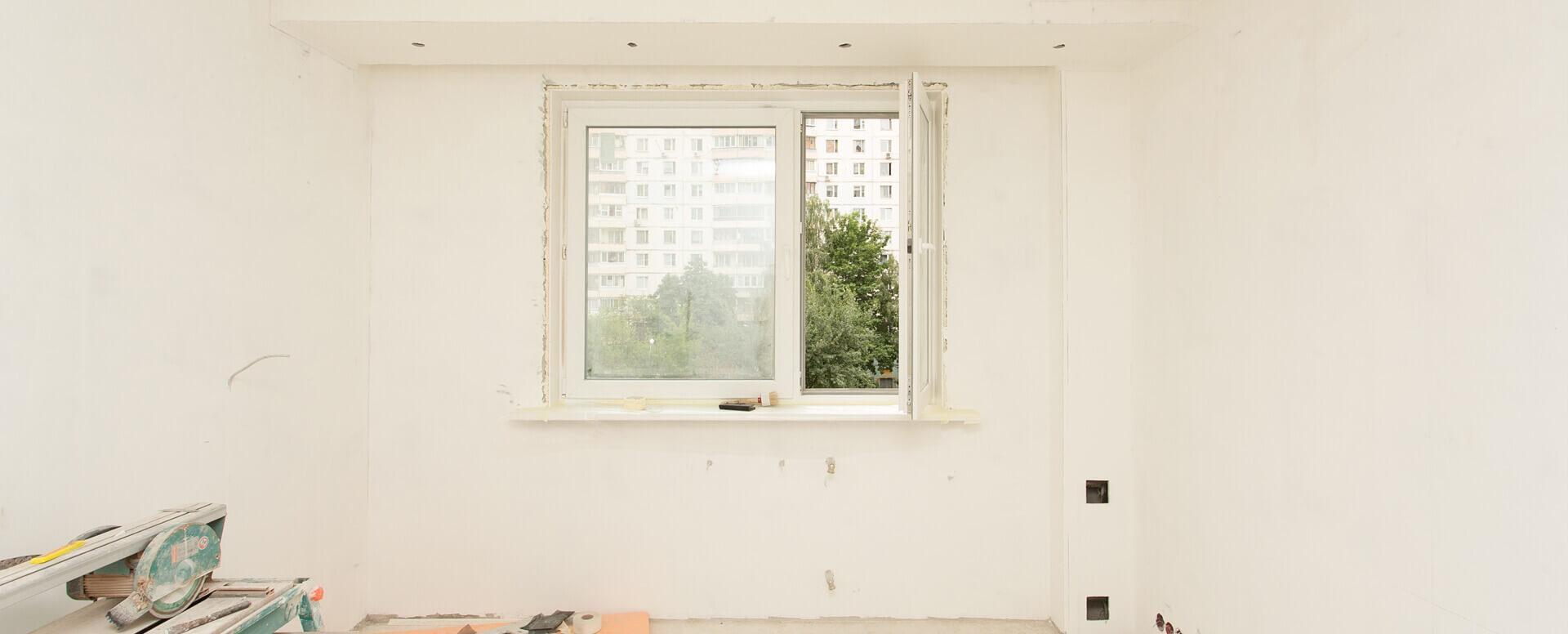 Черновой ремонт однокомнатной квартиры