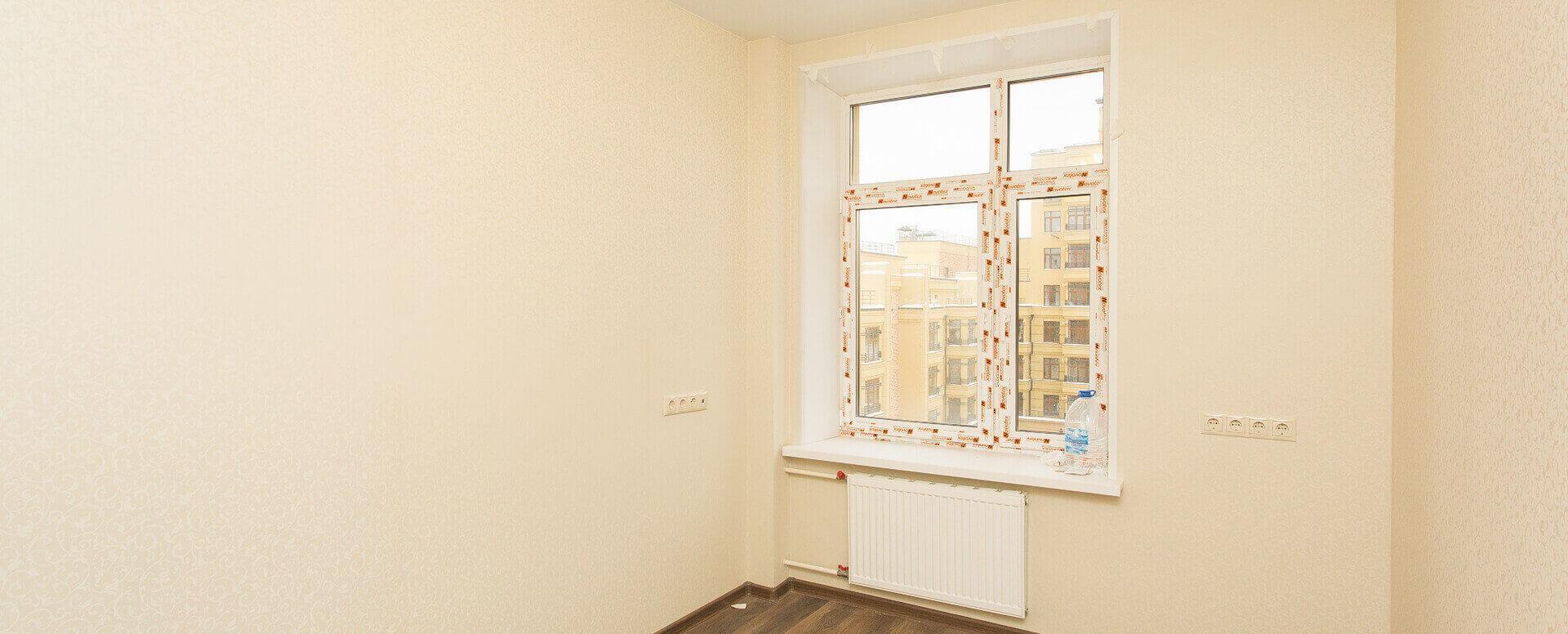 Чистовая отделка однокомнатной квартиры